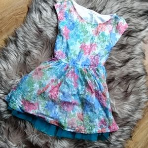 Girl's The Children's Place Lace Dress XS 4